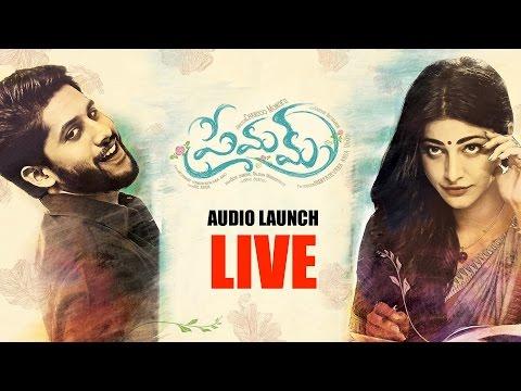 Premam Audio Launch Full Event | Naga Chaitanya, Shruthi Haasan, Anupama | Shreyas Media