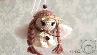 Рождественские ангелы (амигуруми)