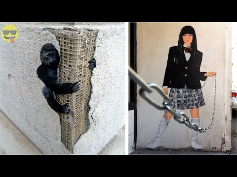 100 Most Creative Street Art Episode 2