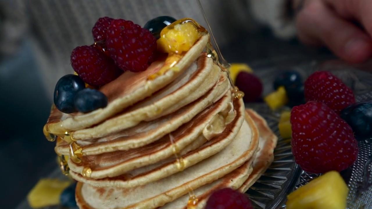 Pancakes B-roll, video handheld | Vidéo Recette de Cuisine | Landy Production