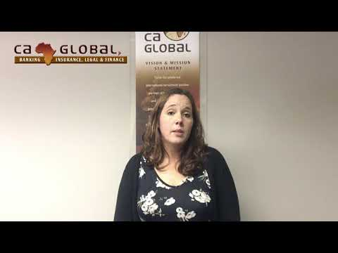 Danelle van der Merwe - Banking, Investment and Risk Jobs in Africa
