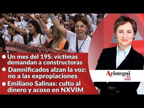 #AristeguiEnVivo 20 de octubre: Memorial 19S; Odebrecht; la secta NXIVM y más…