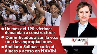 #AristeguiEnVivo 20 de octubre: Memorial 19S; Odebrecht; la secta NXIVM y más… Video