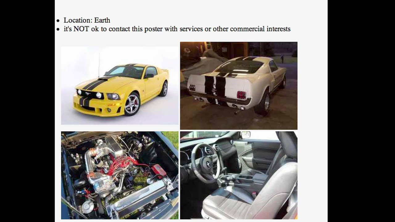 How To Make A Good Auto Ad On Craigslist YouTube - May best craigslist ad car ever