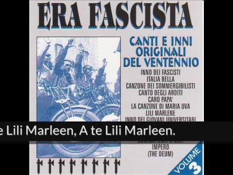Era fascista  Lili Marlene Album Version
