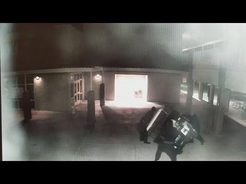 Surveillance video shows vandals at Buckeye Union High School