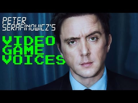 Peter Serafinowicz's Video Game Voices