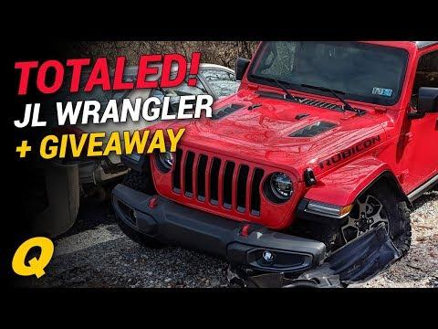 First Totaled 2018 Jeep Wrangler JL, JT Trucks and AEV Ram Prospector + Giveaway