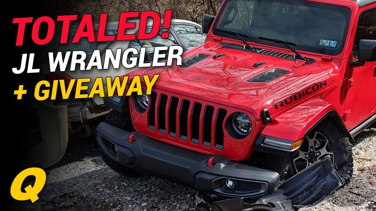 First Totaled 2018 Jeep Wrangler Jl Jt Trucks And Aev Ram Prospector Giveaway News