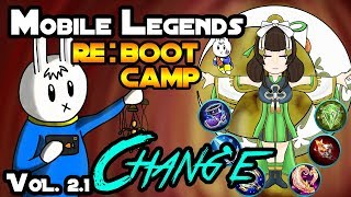 CHANG'E - TIPS, ITEMS, SPELL, EMBLEMS, TRICKS, AND GUIDE - MGL MOBILE LEGENDS RE:BOOTCAMP VOLUME 2.1