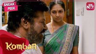 Pazhani's love for her father | Lakshmi Menon - Karthi | Komban | Sneak peek | Full Movie on SUN NXT