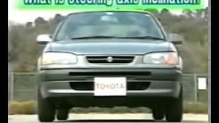 Развал-схождение, Обучающее видео.  Установка колёс и шины.