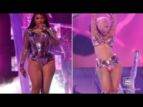 CARDI B & MEGAN THEE STALLION (WAP PERFORMANCE)GRAMMYS 2021