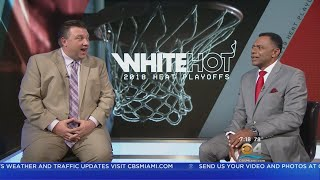 Previewing The Miami Heat's NBA Playoff Series Against Philly With Tim Reynolds Of The AP