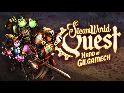 SteamWorld Quest - Official Launch Trailer - Out April 25th on Nintendo Switch