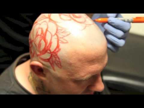 Part 1 Kyle Giffen Tattoos Matts Head at Little Pricks Tattoo Studio ...