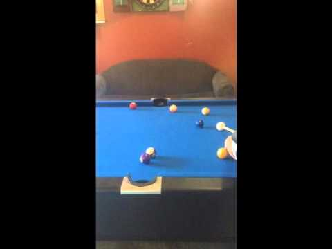 Affordable Billiards   7 Foot Timber Pool Table