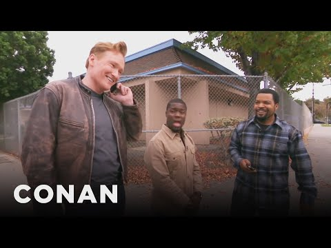 Ice Cube, Kevin Hart, And Conan Share A...