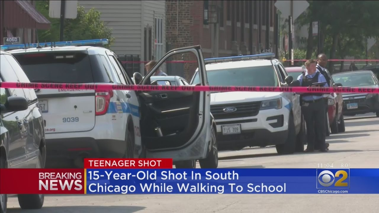 Boy, 15, Shot While Walking To School
