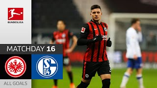 Jovic at the Double! | Eintracht Frankfurt - FC Schalke 04 | 3-1 | All Goals | MD16 – Bundesliga