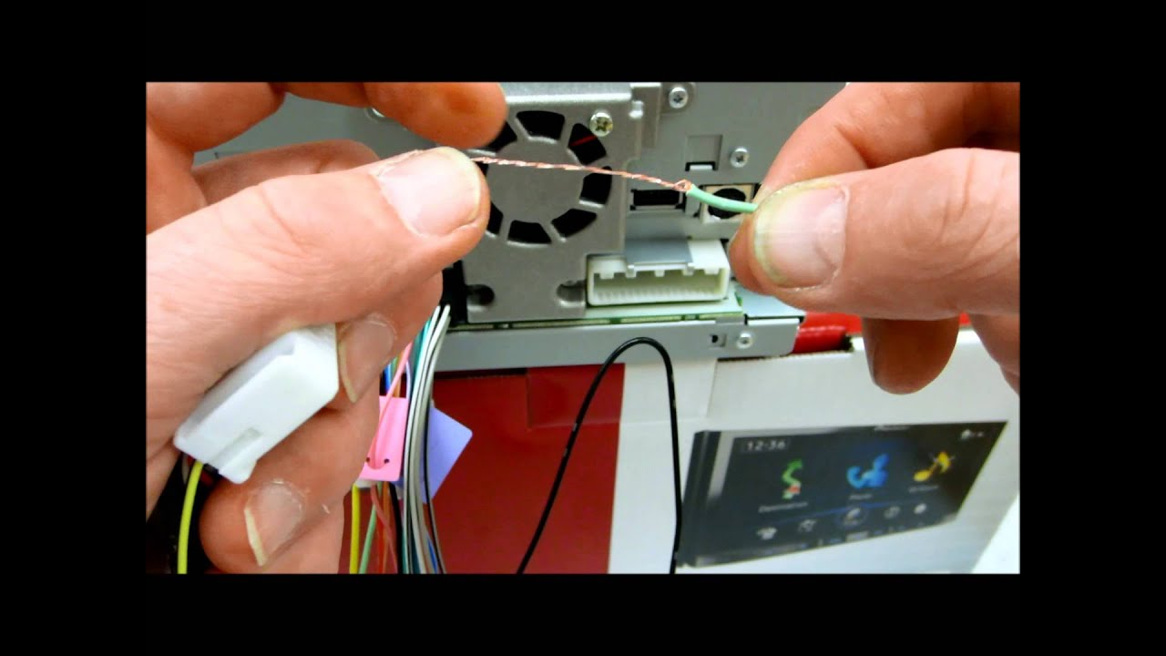 maxresdefault how to do a free dvd video bypass on pioneer avic z150bh or avh pioneer avic-z140bh wiring harness at couponss.co