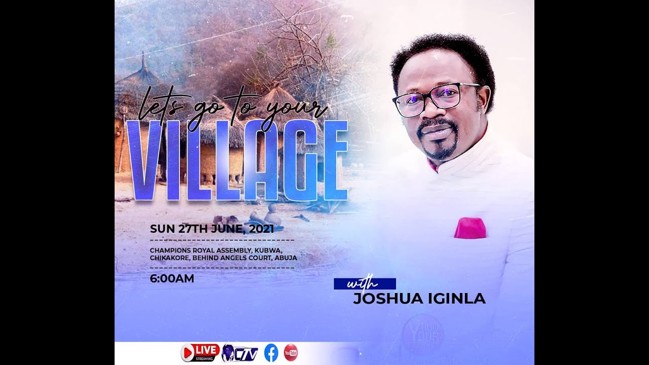 Download LET'S GO TO YOUR VILLAGE WITH JOSHUA IGINLA
