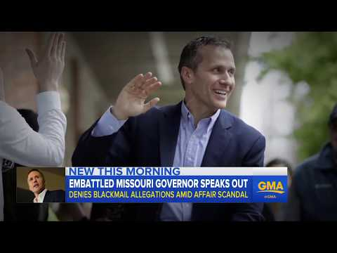 ABC News 01/21/18 - Missouri Governor claims no blackmail in extramarital affair.