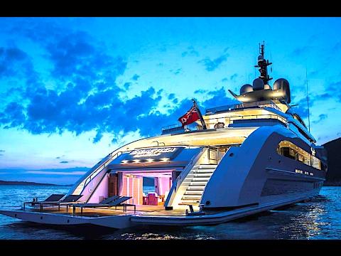Galactica Super Nova Superyacht Interior Bespoke New Megayacht 2017 Carjam Tv Hd