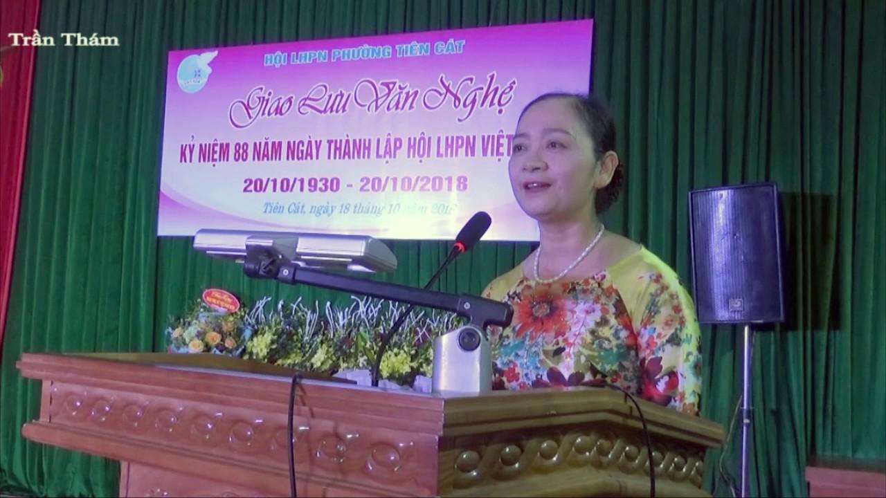Tiên Cát - Phụ Nữ Hình Ảnh Đêm Giao Lưu Văn Nghệ
