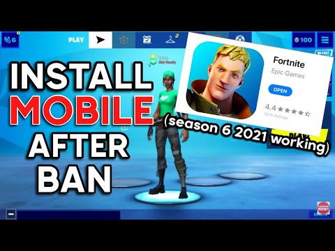 Fortnite Mobile After AppStore Ban - How To Download Fortnite Mobile FREE SEASON 6 On IOS/iPad 2021