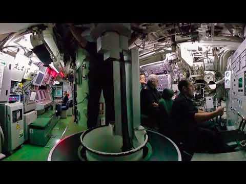 La vida 'enlatada' en un submarino: un váter para 65 personas y ducha cada tres días