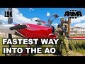 FASTEST WAY INTO THE AO Arma 3 King Of The Hill V11 mp3