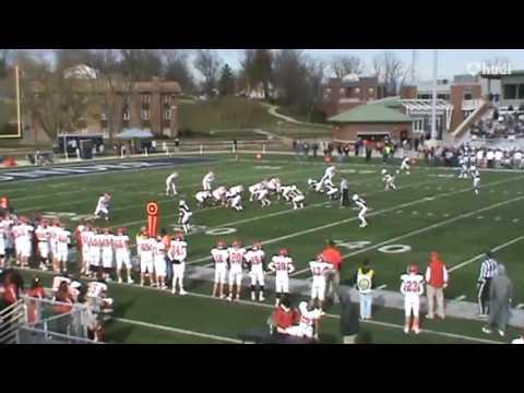 Dominik Givens Olivet College Football Highlights