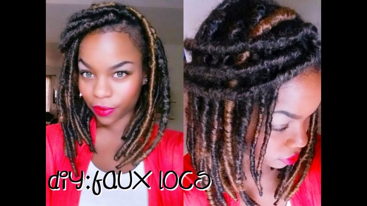 DIY:Faux Locs/Marley Twist Hair