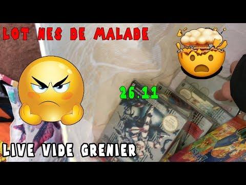LOT NES DE L'ANNÉE !!!! LIVE VIDE GRENIER 26 NOVEMBRE