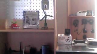 Видео тест камеры в зажигалке.(Образец записи с микро видео-камеры. Дизай - под зажигалку. Тестовая запись в помещении., 2011-10-30T10:23:54.000Z)