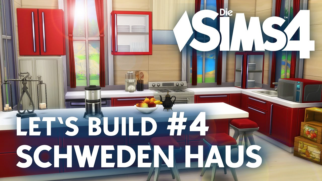 die sims 4 let 39 s build schweden haus 4 rote k che bauen youtube. Black Bedroom Furniture Sets. Home Design Ideas