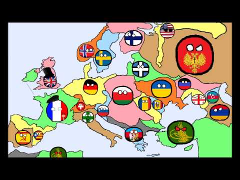 alternate future of europe in countryballs 3 the rise of