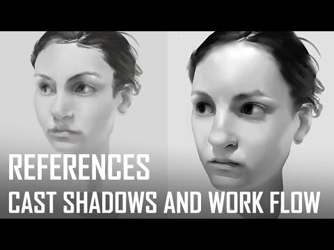Critique Hour! Cast Shadows and Work Flow!