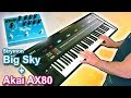 AKAI AX80 + Strymon BigSky = Relaxing Ambient New Age Space Music 【SYNTH DEMO】