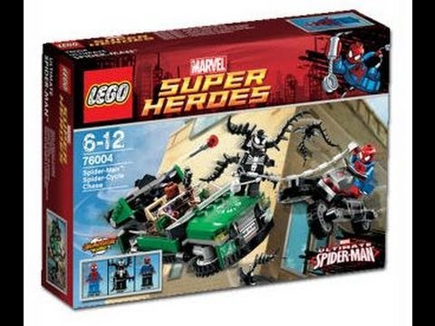 Lego ultimate spiderman spidercycle chase set youtube - Lego spiderman 3 ...