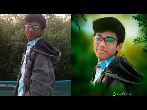 Orijinal Dslr blur tutorial without Picsart | Ps touch tutorial | Get dslr look by ps touch |