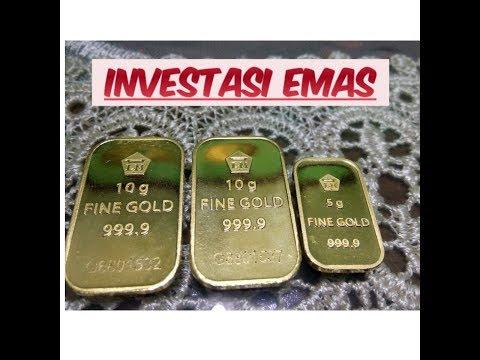 Review/Unboxing Emas Batangan, Serta Cara, Harga dan Manfaat Investasi Logam Mulia.