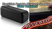 Blackweb Rugged Bluetooth Speaker Unboxing - YouTube