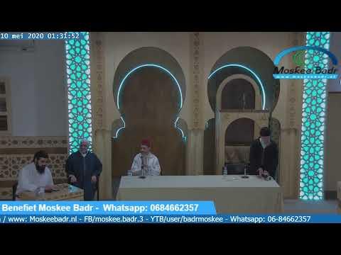 Moskee Badr een benefiet