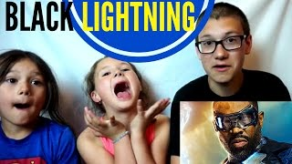 BLACK LIGHTNING Official First Look Trailer Reaction!!!
