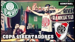 Palmeiras vs River | Reacciones de Hinchas de River | Copa Libertadores  - Semifinal Vuelta
