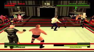 WWF/WWE Attitude - Part 1 - Career Mode With Stone Cold Steve Austin [PS1]