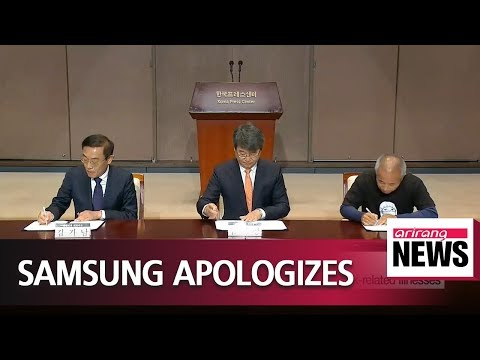 Samsung officially apologizes to victims of work-related diseases
