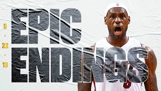 Final 11.9 & OT LeBron James Hits #TissotBuzzerBeater Vs. Pacers   On This Day